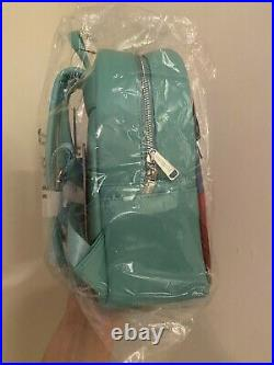 Loungefly Disney The Little Mermaid Mini Backpack Pink a la Mode Exclusive