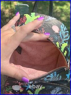 Loungefly Little Mermaid Black Mini Backpack