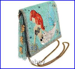 Mary Frances Ariel, Disney The Little Mermaid Beaded Crossbody Clutch NWT