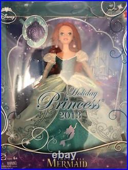 Mattel Holiday Barbie Disney Princess 2013 Little Mermaid Ariel NIB