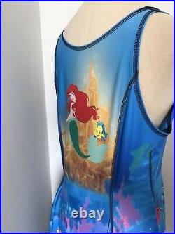 NWOT Black Milk Disney Little Mermaid Ariel Ursula IOD Inside Out Dress XL