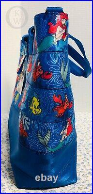 NWTDisneyLittle Mermaid Harvey's Seatbelt Med Slim-line TotePurse 19278A