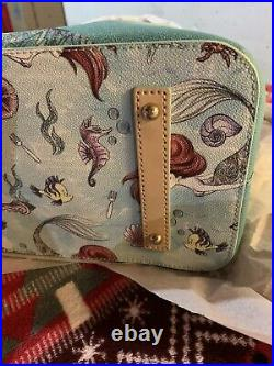 NWT Disney Dooney Bourke Ariel Little Mermaid TOTE Bag Purse Sold Out and HTF