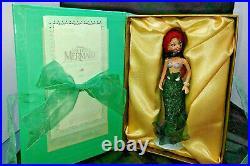 New Disney Limited Ed Little Mermaid Ariel Porcelain Doll Knickerbocker Toys 98