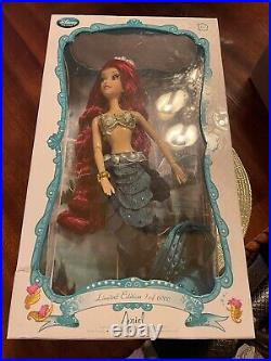 New Disney Limited Edition Ariel 17 Doll The Little Mermaid 2013