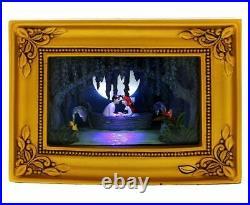 New Disney Parks Olszewski Gallery of Light Little Mermaid Ariel and Eric Kiss