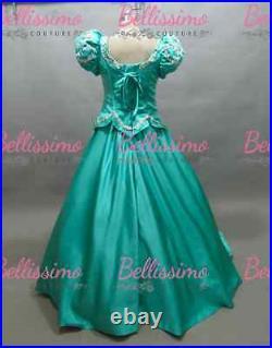 PLUS SIZE Princess Little Mermaid Ariel Dress Costume adult SIZE 18-28