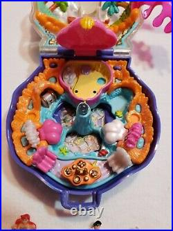 Polly Pocket ARIEL Disney's THE LITTLE MERMAID Compact COMPLETE