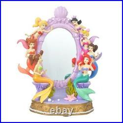Pre-Order Disney Store JAPAN 2021 Little Mermaid Figure Mirror Ariel Sisters