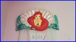 RARE Ariel Little Mermaid Hanging Wall Mounted Canopy