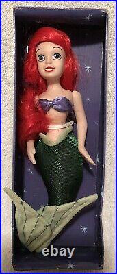 RARE DeAgostini Small Porcelain Disney Little Mermaid Ariel Eric Triton VHTF