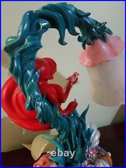 RARE Disney Store Ariel Little Mermaid Lamp
