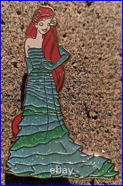 RARE Disney Store Designer Princess The Little Mermaid Ariel LE 150 Pin