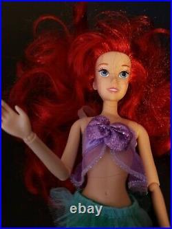RARE Retired King Triton Doll Disney Store The Little Mermaid Ariel Ursula Eric