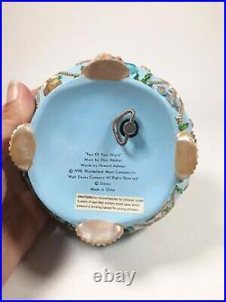RARE wonderland music company Ariel the Little Mermaid Music Box vintage 1998