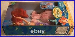 SIGNED 97 Mattel Disney Little Mermaid Princess Mermaid Ariel Doll Benson NRFB