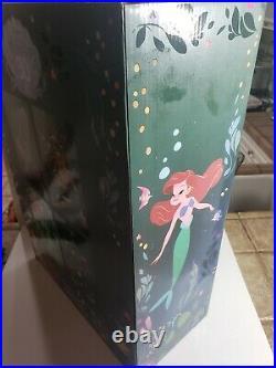 SIGNED! D23 Expo 2019 The Little Mermaid Acrylic Art Set of 4 LE See description