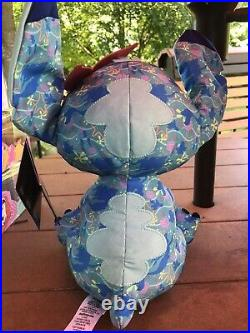 Stitch Crashes Disney Plush The Little Mermaid In hand Limited Release