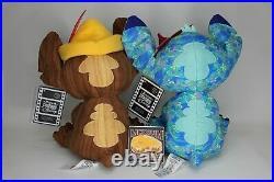 Stitch Crashes Disney THE LITTLE MERMAID & PINOCCHIO Stuffed Plush Ariel Lot