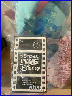 Stitch Crashes Disney The Little Mermaid Ariel Plush New Sealed With Tags