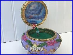 The Little Mermaid Ariel Disney Music Box Rare Excellent Works