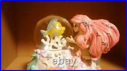 The Little Mermaid Ariel Snow globe Snow dome Disney Store Figure