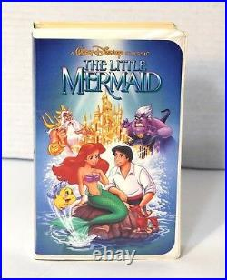 The Little Mermaid Out Of Print Controversial Cover, Rare 1st Label (Disney VHS)