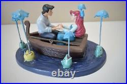 WDCC Disney LITTLE MERMAID ARIEL & ERIC KISS THE GIRL Ltd ED COA (v0521J)