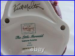 WDCC Seahorse Surprise Ariel from The Little Mermaid SIGNED in Box with COA