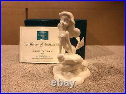 WDCC The Little Mermaid Ariel Seaside Serenade Whiteware New in Box