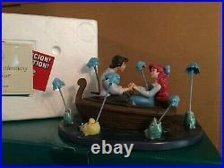 WDCC The Little Mermaid Eric & Ariel Kiss The Girl + Box and COA